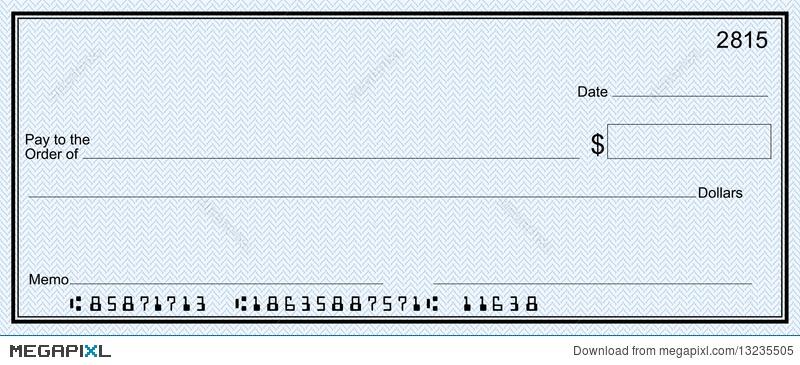 Bank check clipart 8 » Clipart Station.