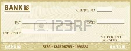 2,097 Bank Cheque Cliparts, Stock Vector And Royalty Free Bank.