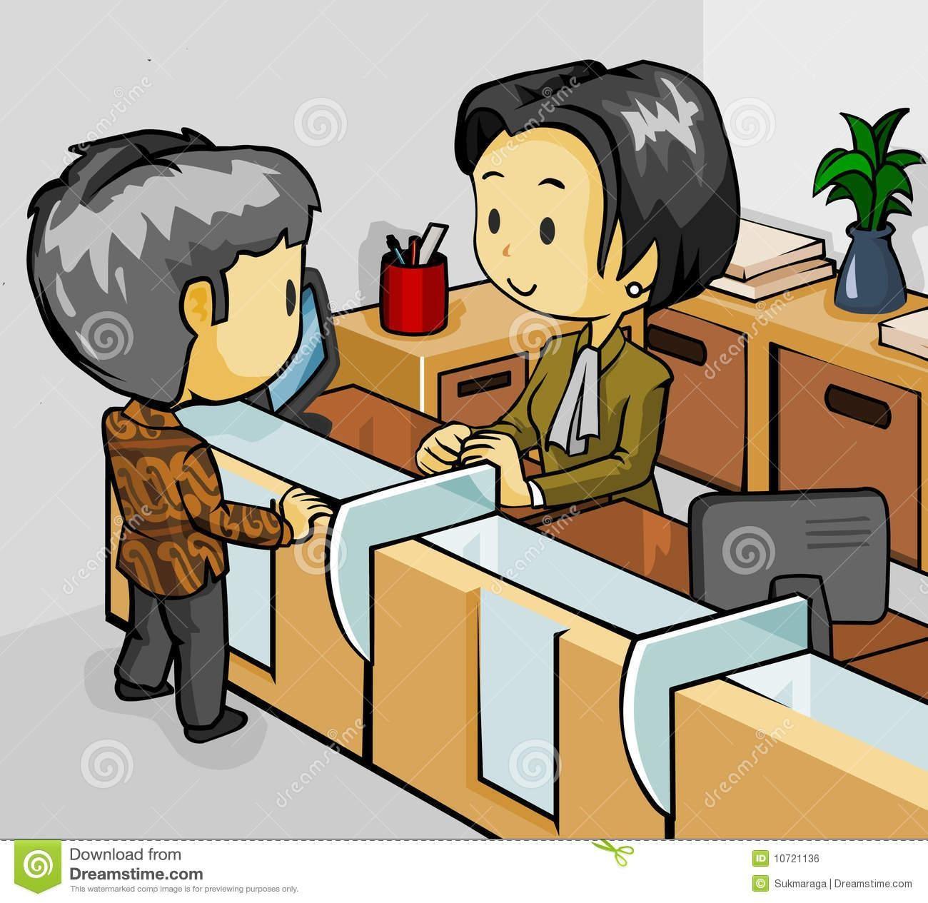Banker clipart bank employee, Banker bank employee.