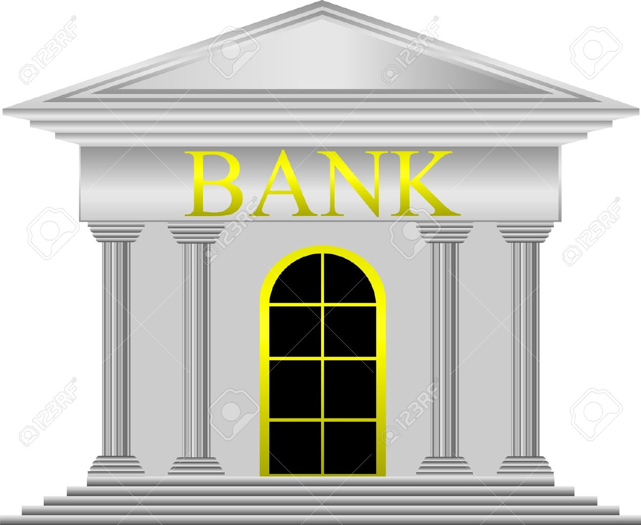 Bank Clipart (5317) Free Clipart Images — Clipartwork.