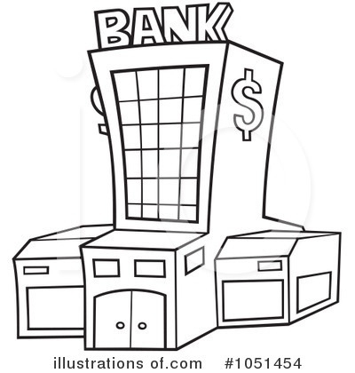 Bank Clipart #11633 for Unique Of Bank Clipart Black And White.
