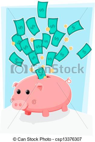 Bank Clipart Cute.