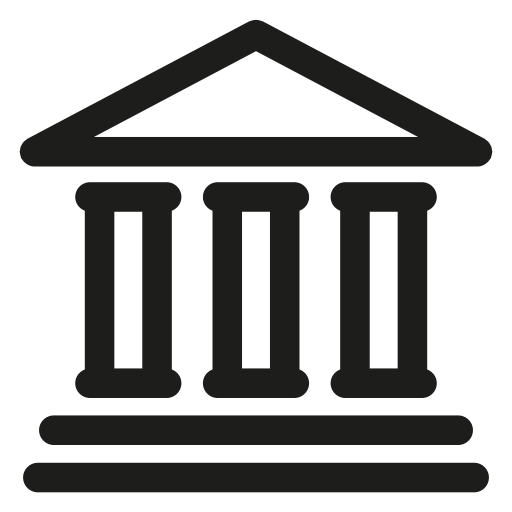 Bank, banking, payment icon.