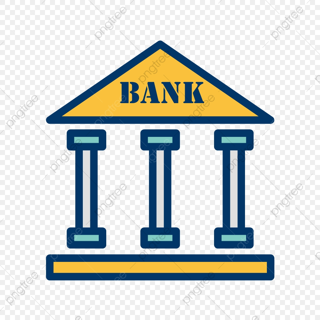 Vector Bank Icon, Bank, Building, Finance PNG and Vector with.