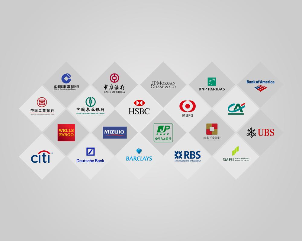 20 Top Bank Logo Palettes.