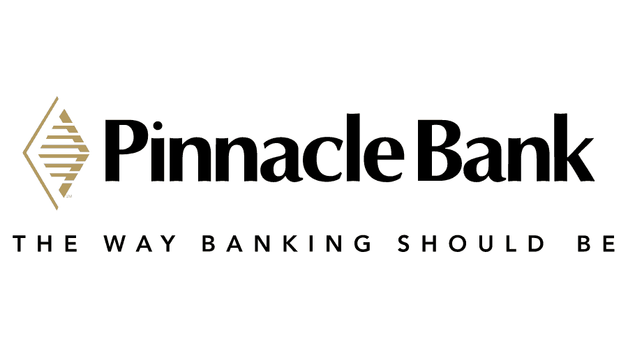 Pinnacle Bank Vector Logo.