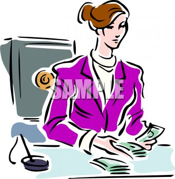 Bank manager clipart 4 » Clipart Station.