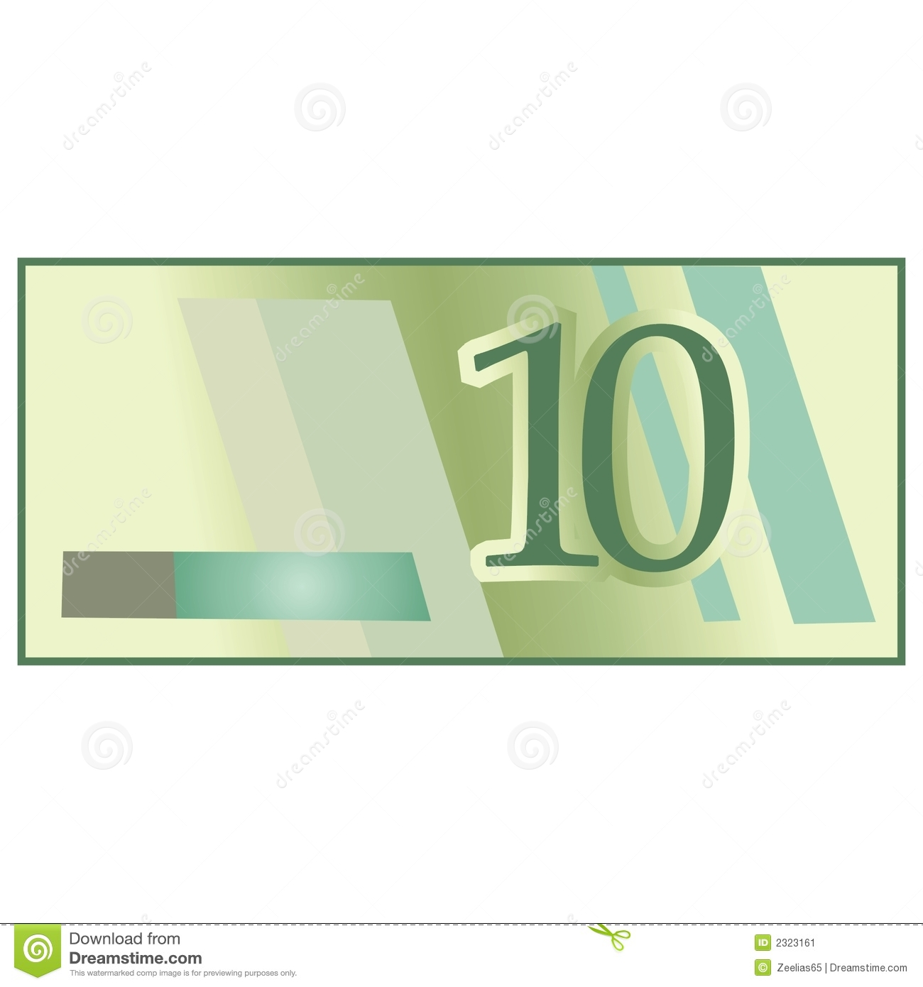 Bank Note Stock Image.