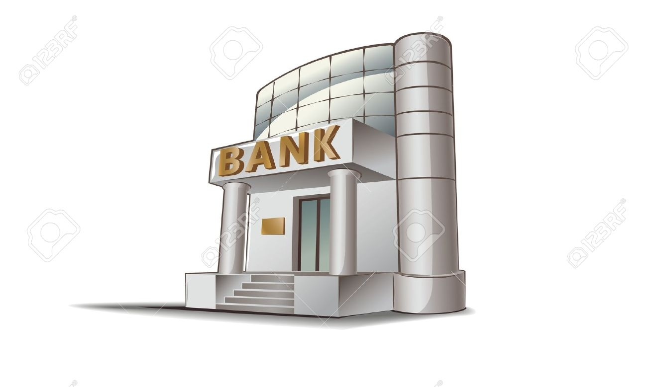 Free clipart bank building clipart images gallery for free.