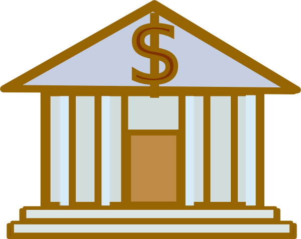 Bank building clipart clipart images gallery for free.