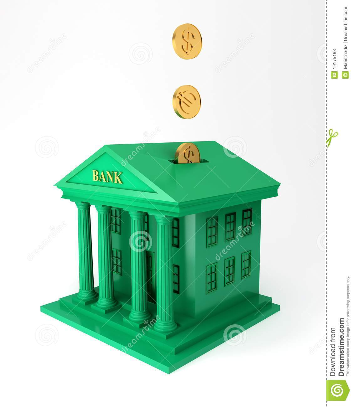 Investment Bank Clipart.