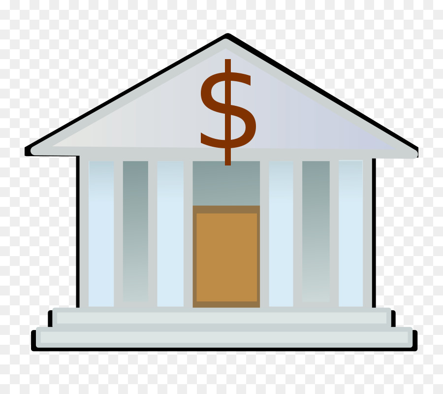 Bank Cartoon clipart.