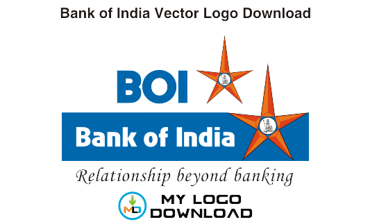 My Logo Download: Bank of India Logo Vector in .eps Format.