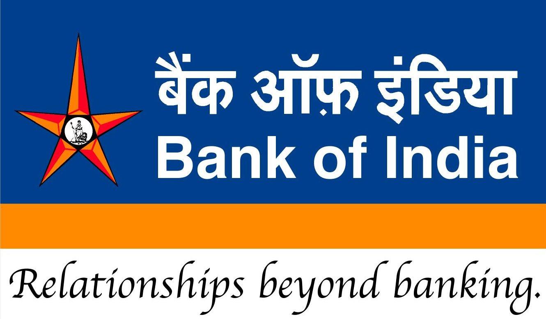 Bank of india PNG Logo.