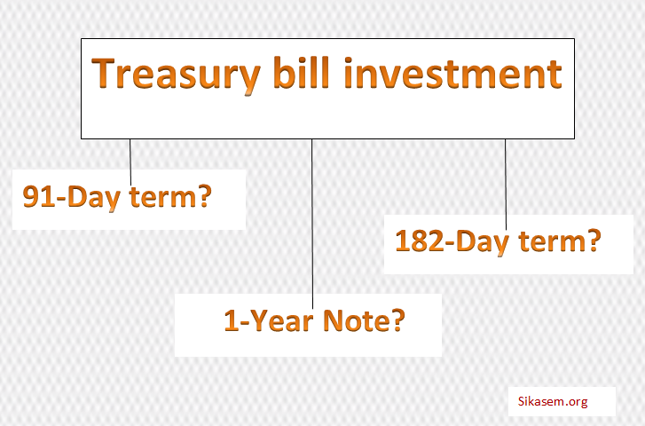 Treasury bill investment: Choosing between 91.