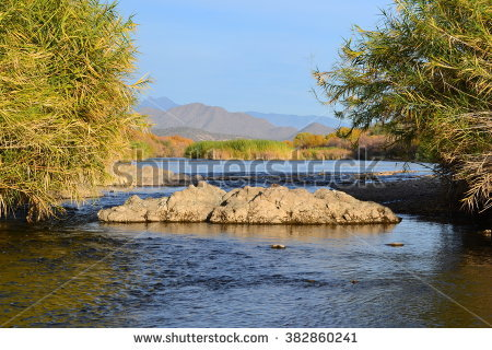 Salt River Pima Stock Images, Royalty.