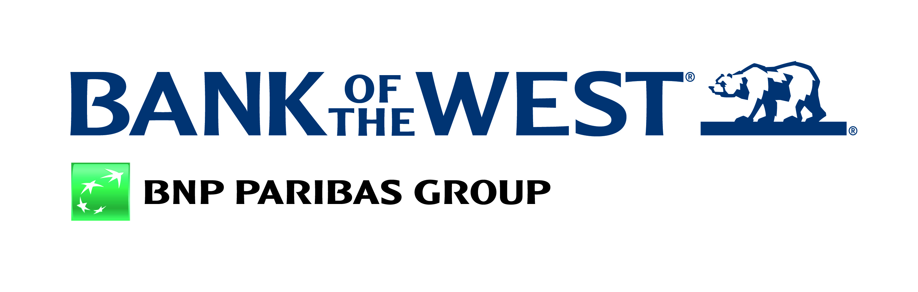 Bank of the west Logos.