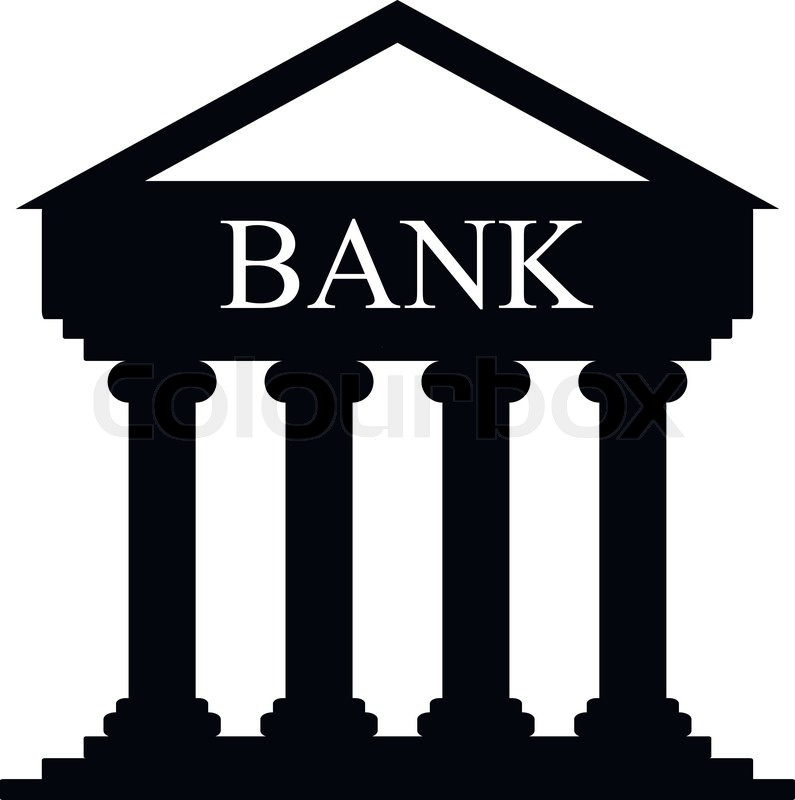 Full size JPG preview: Bank building icon #5967.