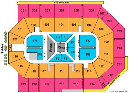Citizens Business Bank Arena Tickets in Ontario California.