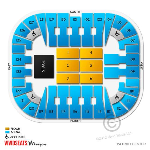 EagleBank Arena Tickets.