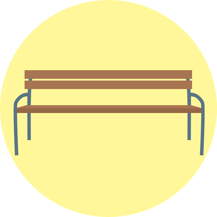 Free vector graphic: Bank, Park Bench, Sit, Seat, Bench.