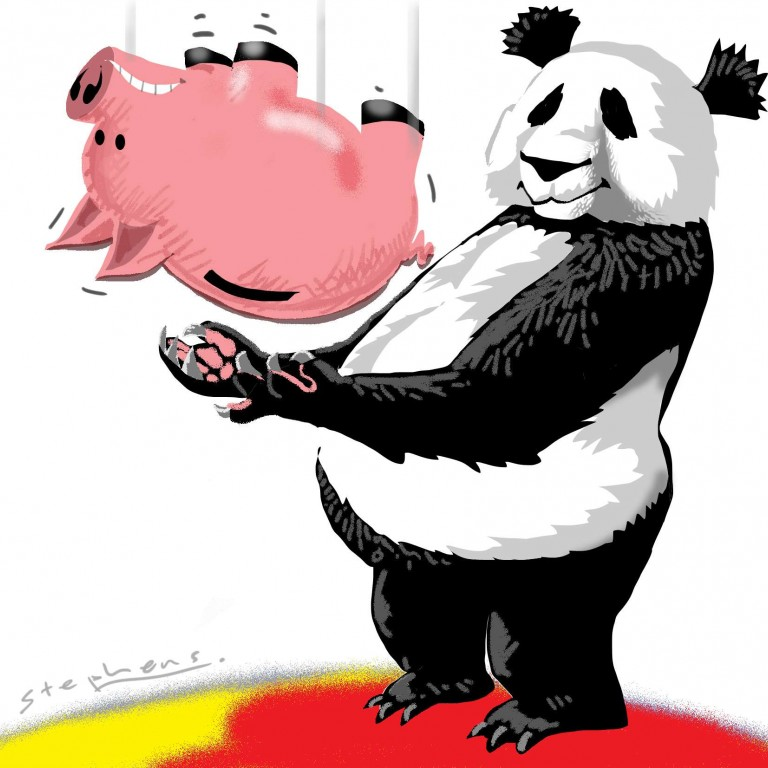 China is ready for any banking crisis that may come.