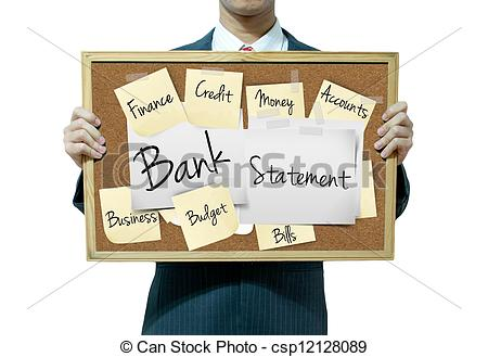 Pictures of Business man holding board on the background, Bank.
