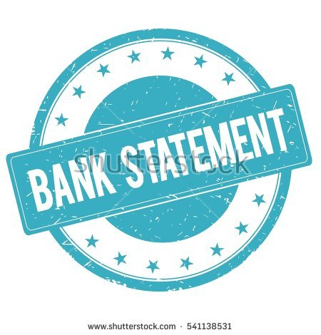 Bank Statement Stock Images, Royalty.