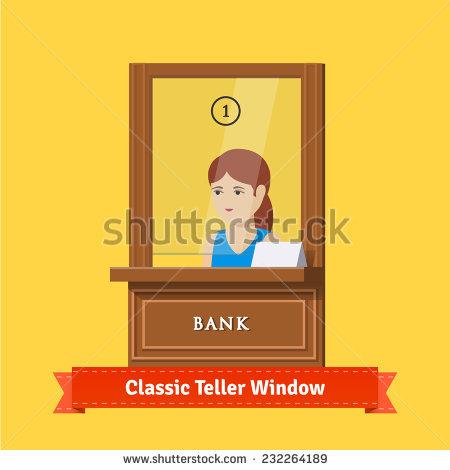 Bank Teller Stock Vectors, Images & Vector Art.