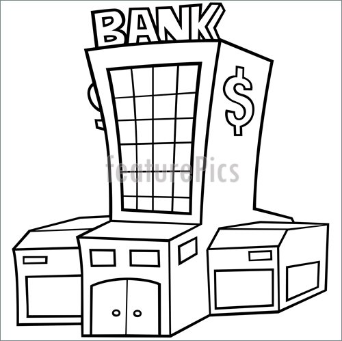 Bank clipart drawing, Bank drawing Transparent FREE for.
