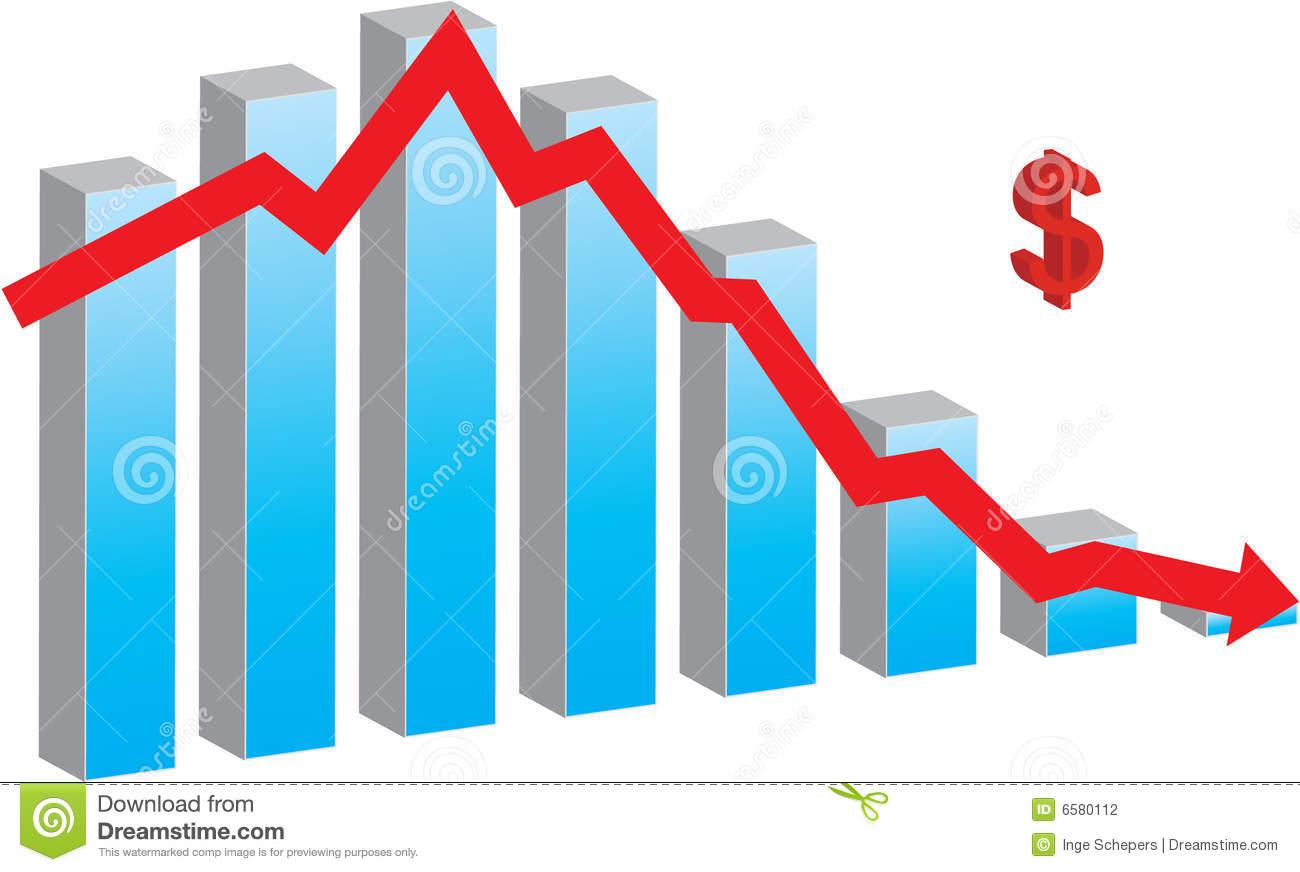 Financial Crisis Stock Photography.