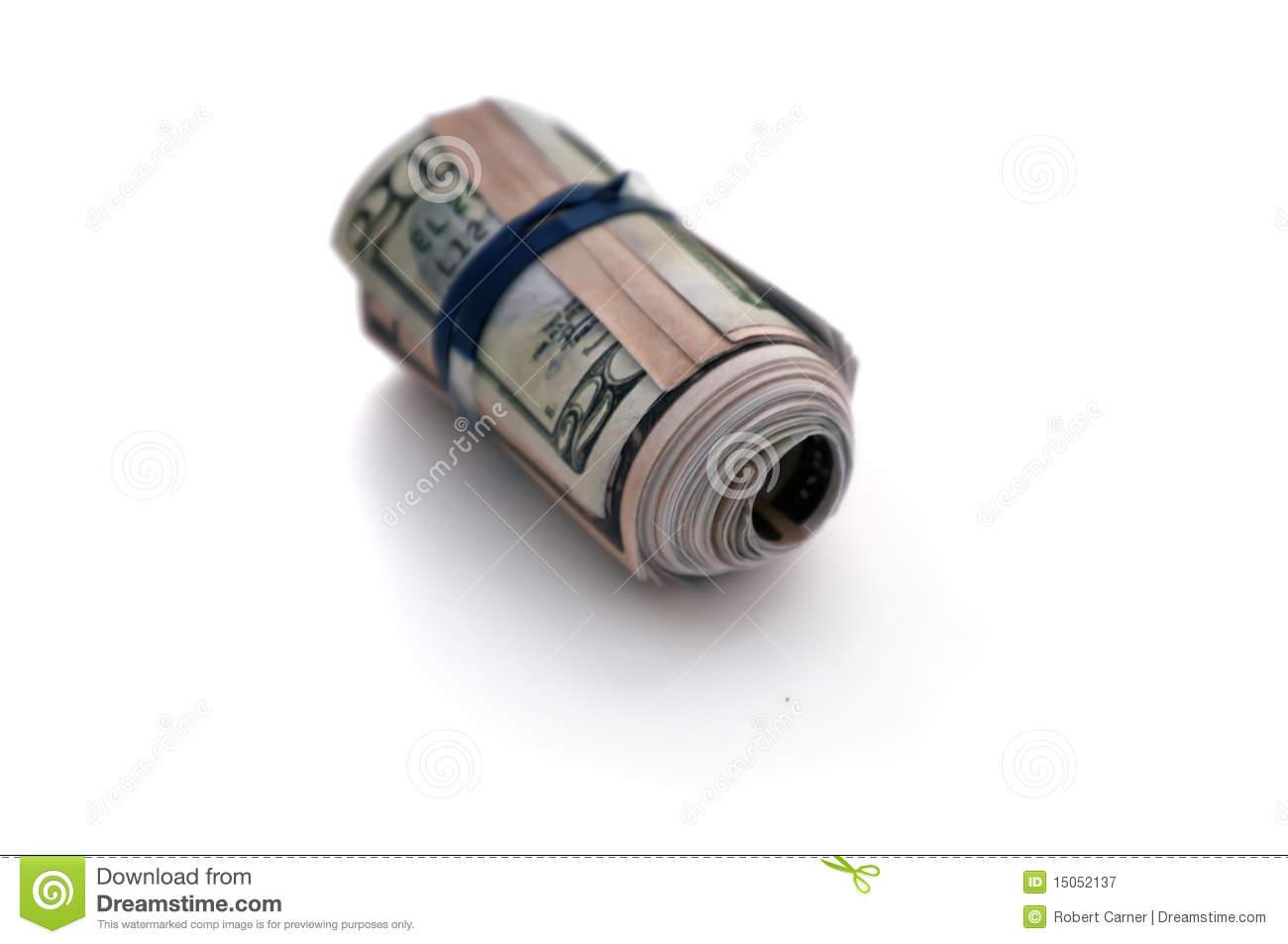 Bankroll Stock Image.