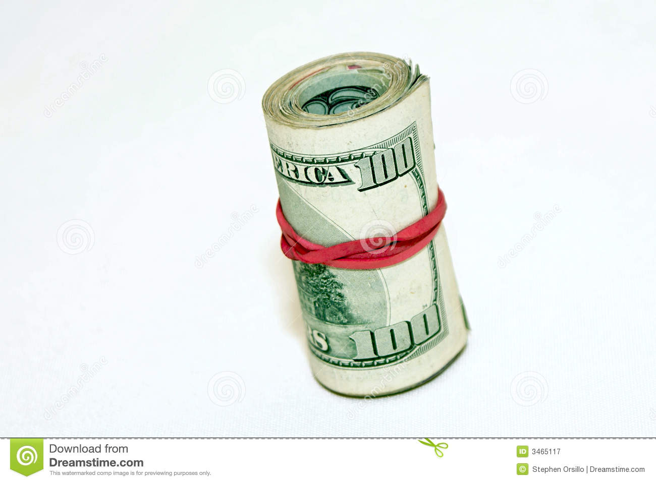 Bank Roll Royalty Free Stock Photography.