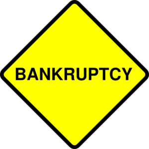 Bankruptcy Sign Clip Art at Clker.com.