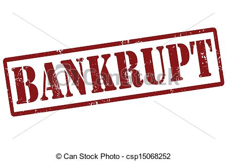Bankruptcy Clipart.