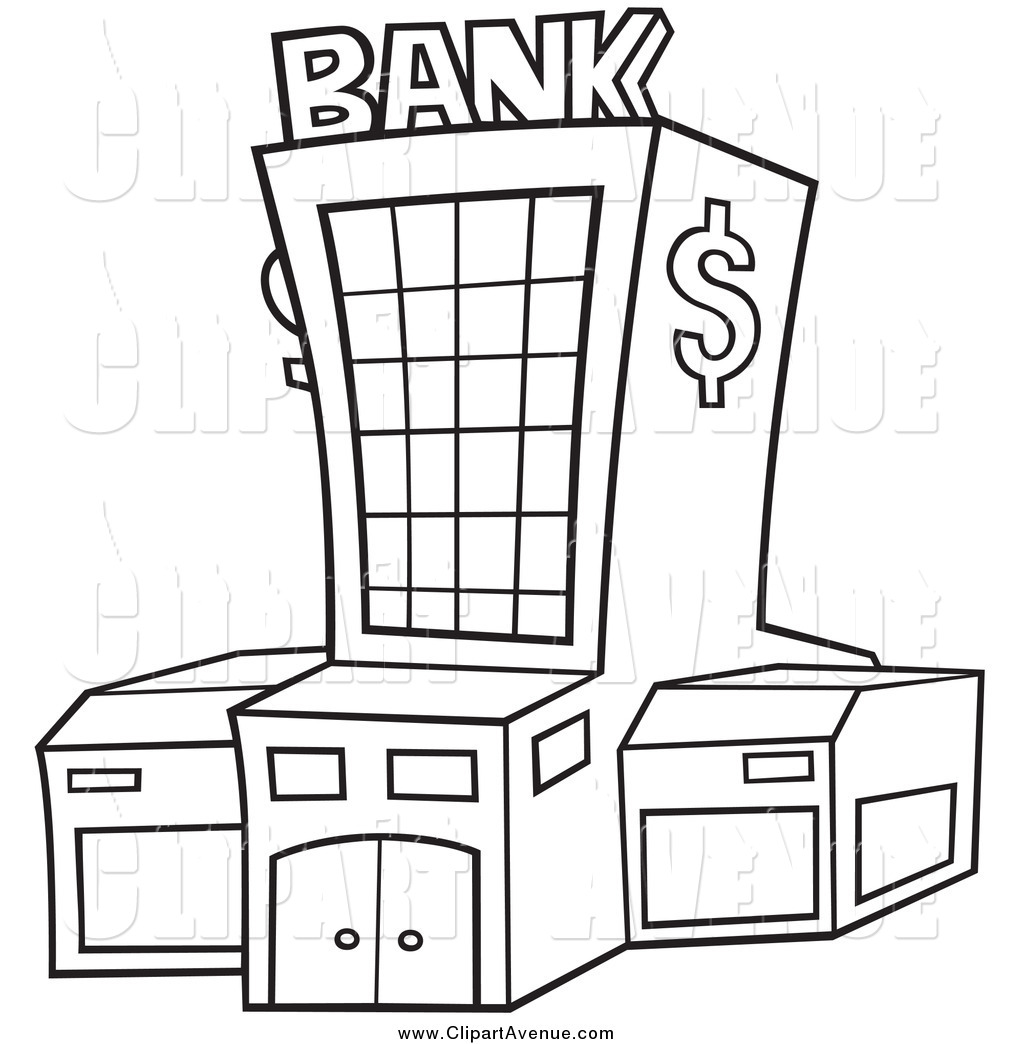 Banks clipart.