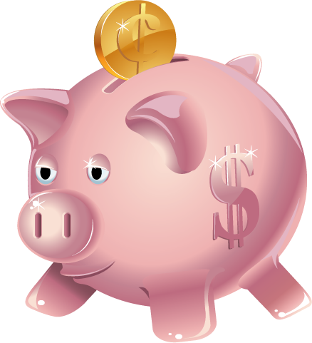 Piggy Bank Clipart.