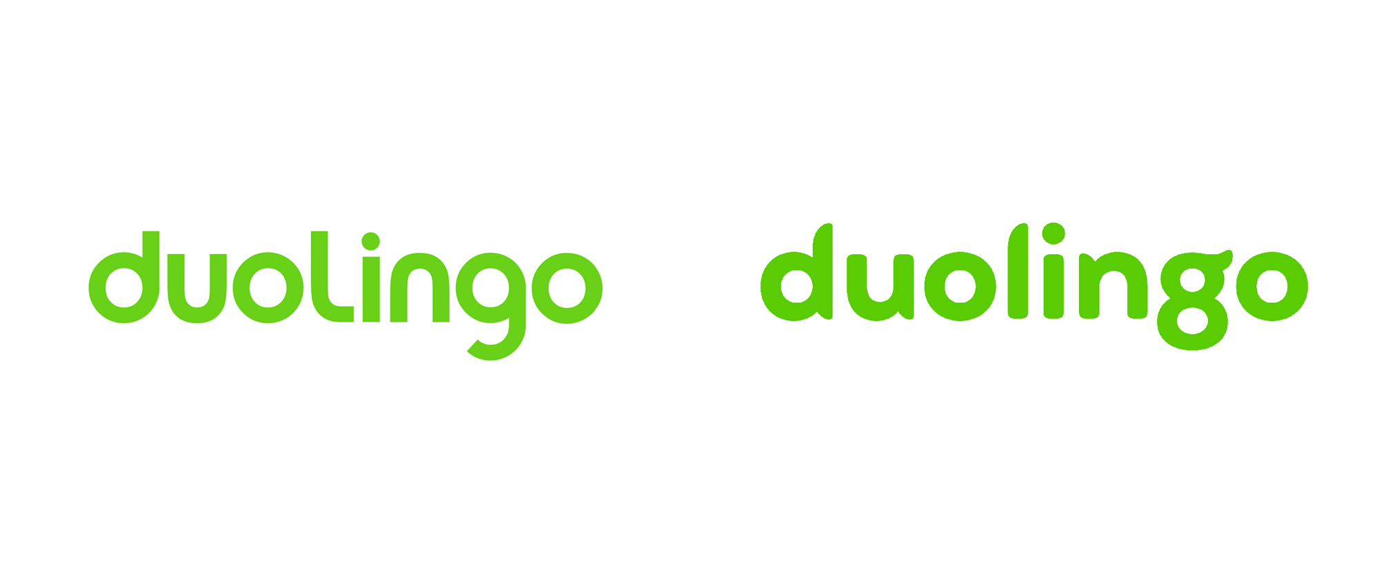 Brand New: New Wordmark and Identity for Duolingo by Johnson.