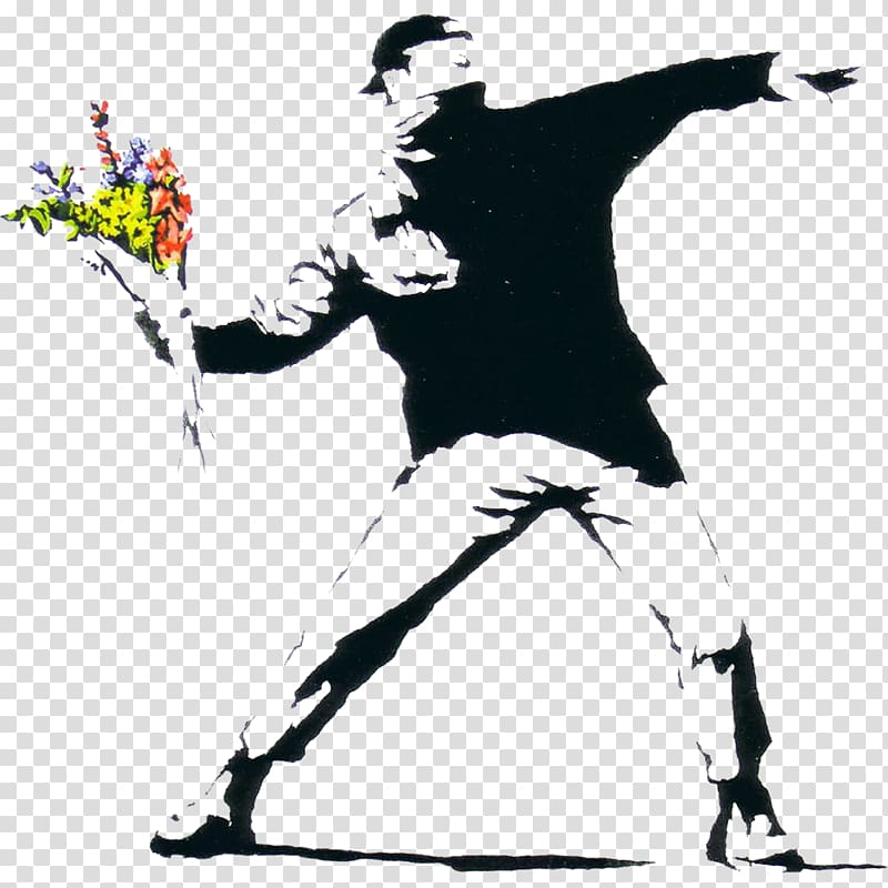 Banksy transparent background PNG cliparts free download.
