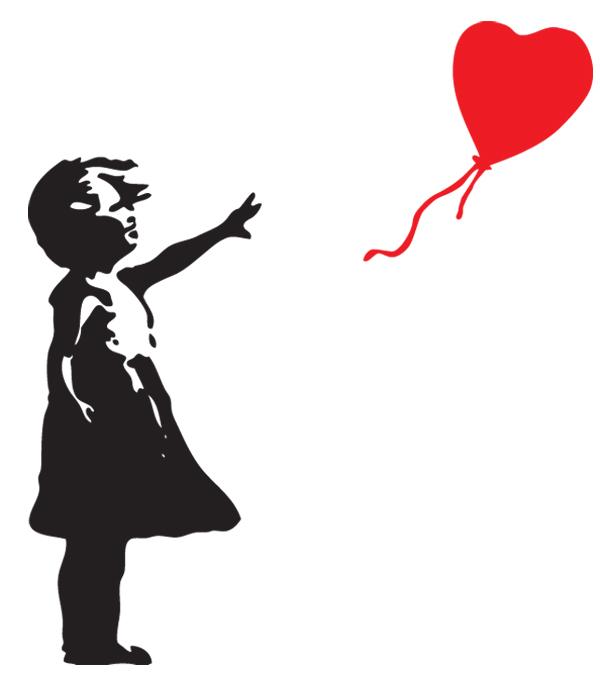 Famous Banksy Clip Art.
