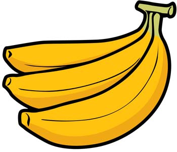 Banana Clipart Graphic.