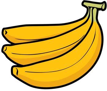 Banana Clipart Graphic.