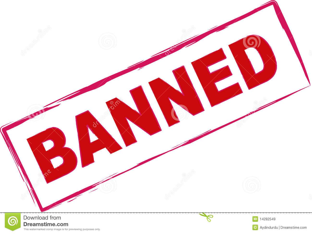 Ban Clipart.