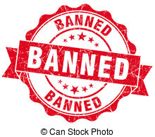 Banned Clip Art and Stock Illustrations. 1,819 Banned EPS.