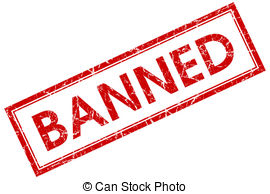 Banned Clipart.