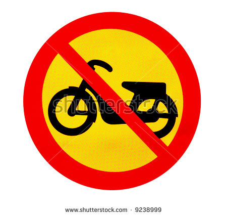 No Motorcycle Stock Photos, Royalty.