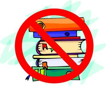 Banned books week clip art.
