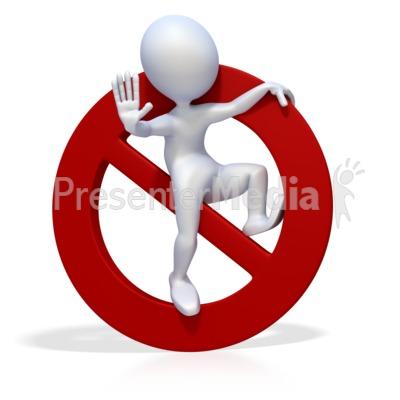 figure prohibit stop.