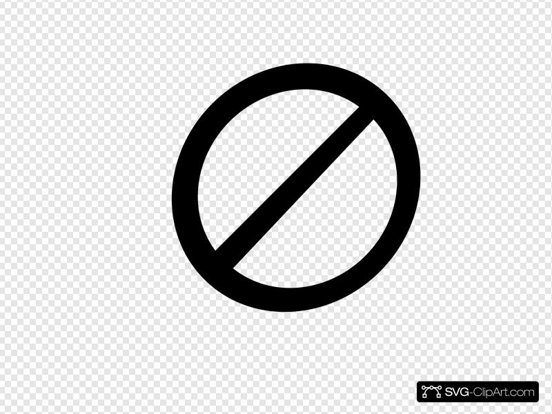No Banned Clip art, Icon and SVG.