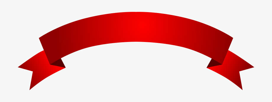 Red Banner Vector Png Download.